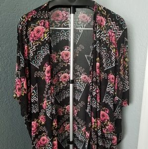 Sheer Rose Cover Up 🌹 XL🌹